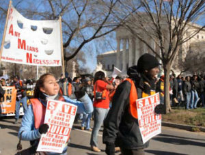 Affirmative Action March in Washington, DC